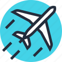 airplane, delivery, flight, plane, transportation, travel, vehicle icon