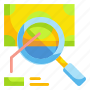 advertising, analysis, magnifying, money, paid, search