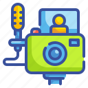 camera, content, photo, video, vlogs icon
