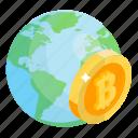 bitcoin future, bitcoin network, bitcoin world, global cryptocurrency, worldwide transaction