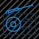 radio, antenna, music, appliance