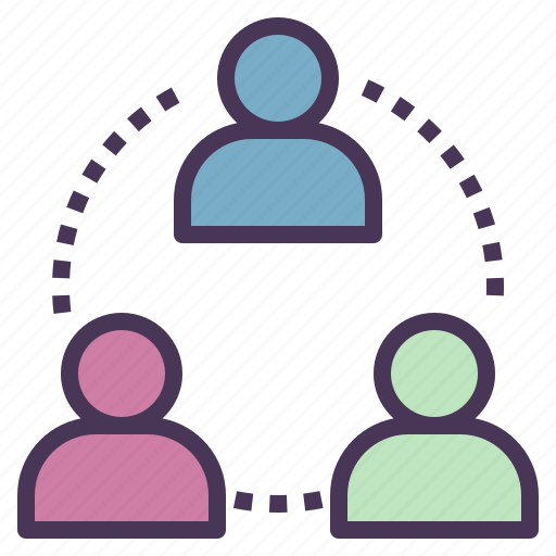 community, company, customer, organization, people, relationship icon