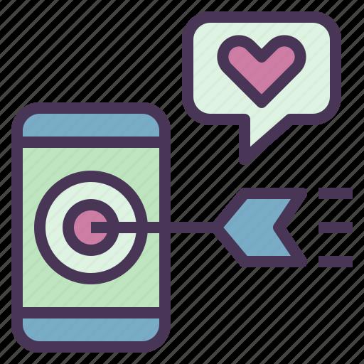 digital, internet, marketing, media, mobile, promote icon