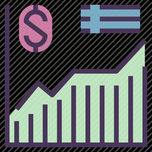 business, economics, indicator, money, prediction, statistics icon