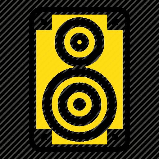 audio, hifi, loudspeaker, monitor, professional icon
