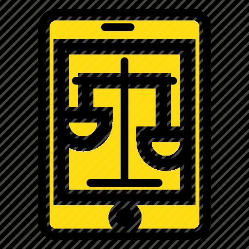 court, internet, law, legal, online icon