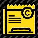 copy, copyright, file, restriction, right