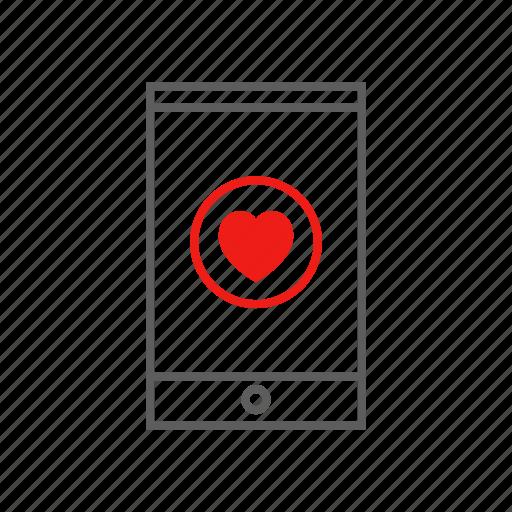 dating, digital, flert, heart, life, mobile, tinder icon
