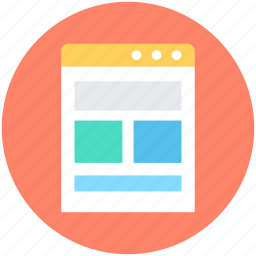 design template, web layout, web page, web template, website icon
