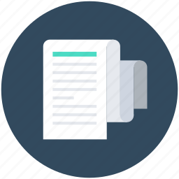 documents, folded newspaper, news feed, paper, print media icon
