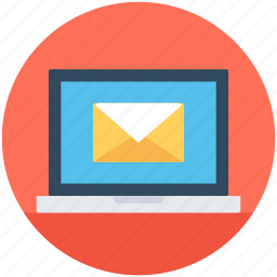 email, email marketing, laptop, marketing, message icon