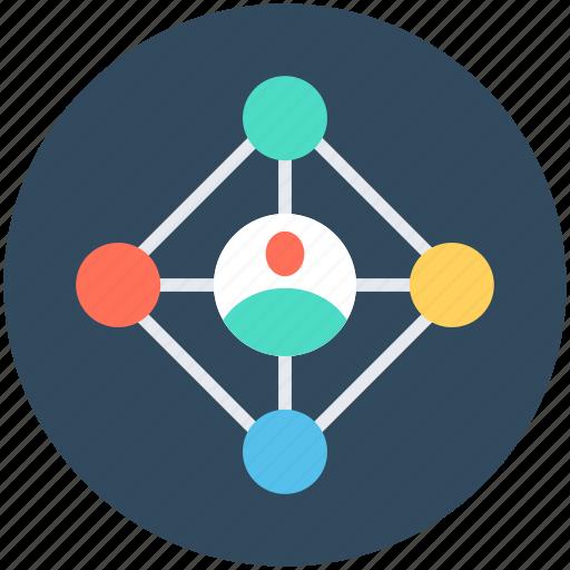 global network, internet, social media, social network, worldwide community icon