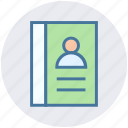 digital marketing, document, file, page, paper, user icon