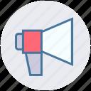 announcement, digital, marketing, mega phone, seo icon