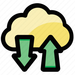 backup, cloud computing, cloud hosting, cloud network, cloud service icon