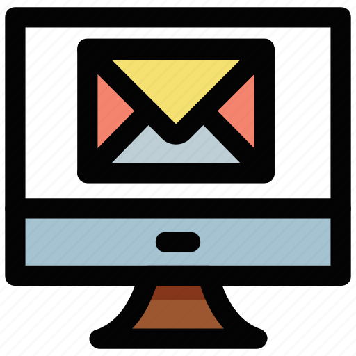email, emessage, modern communication, online communication, online mailing icon