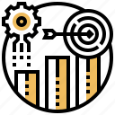achievement, ambition, arrow, goal, target icon