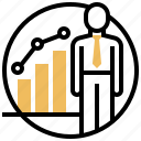 business, chart, growth, man, progress