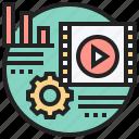 advertise, marketing, movie, multimedia, video