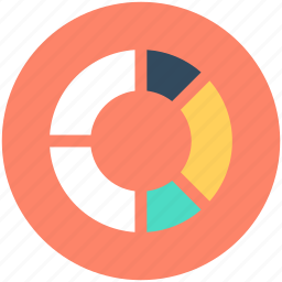 analytics, business chart, pie chart, pie graph, statistics icon