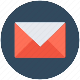 envelope, mail, message, post envelope, post letter icon