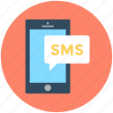 chat bubble, mobile chat, sms, sms bubble, speech bubble icon