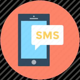 chat bubble, mobile chat, sms, sms bubble, speech bubble icon