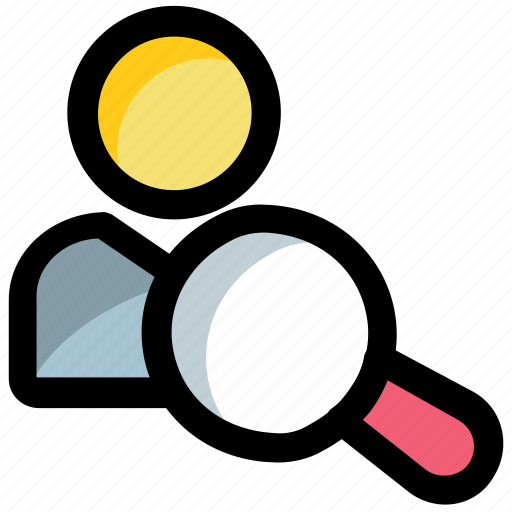 customer search, people search, user research, user search, view user icon