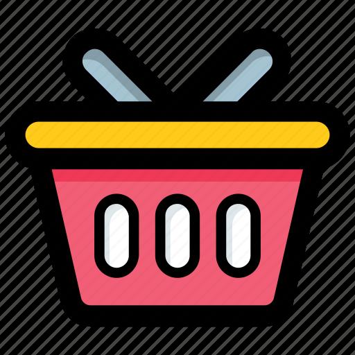 basket, buy, hamper, sale, shop icon