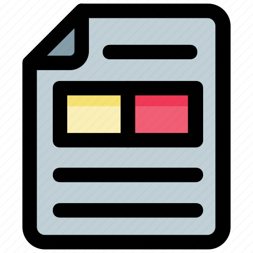 document, evidence, file, note, record icon