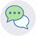 chat, chatting, comments, conversation, digital marketing, discussion, talk icon