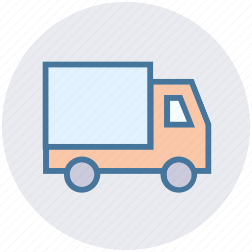 delivery, digital marketing, travel, truck, vehicle icon