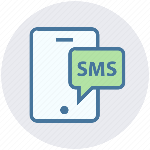 chat, comment, digital, message, mobile, phone, sms icon