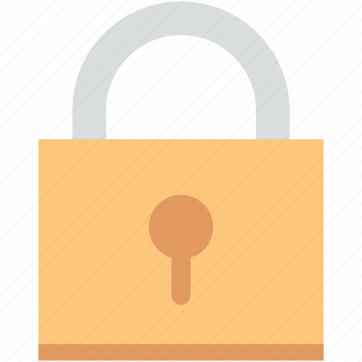 lock, locked, padlock, privacy, safety icon