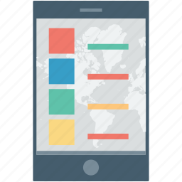 app design, app layout, mobile layout, mobile menu, mobile wireframe icon