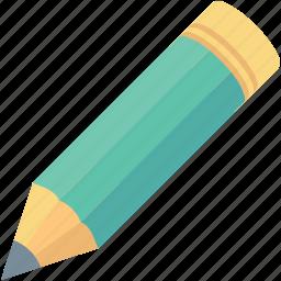 draw, lead pencil, pencil, stationery, write icon