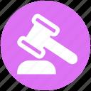 auction, bidding, gavel, hammer, legal insurance, law