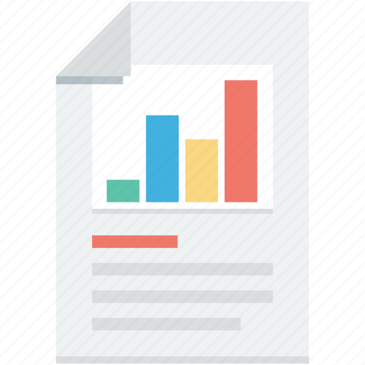 analysis, business report, graph report, report, statistics icon