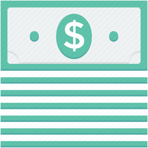 banknote, currency note, dollar note, paper money, paper note icon
