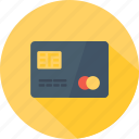 card, chip, credit, money, payment icon