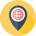 earth, map, placeholder, planet, travel, world, worldwide icon
