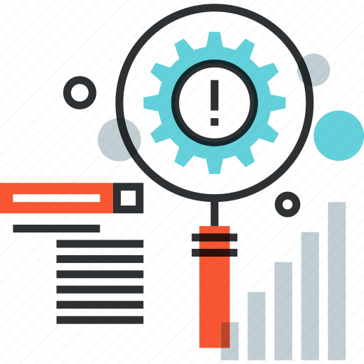 analytics, magnifier, optimization, search, seo, tool, web icon