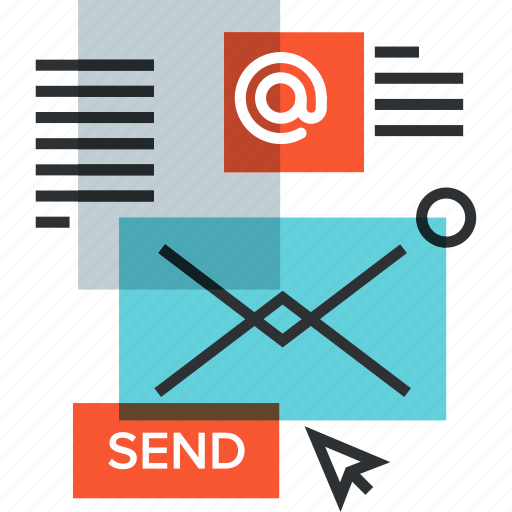advertising, communication, email, letter, mail, marketing, message icon