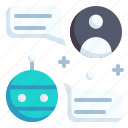 chatbot, chat, ai, customer service, robot, conversation, service