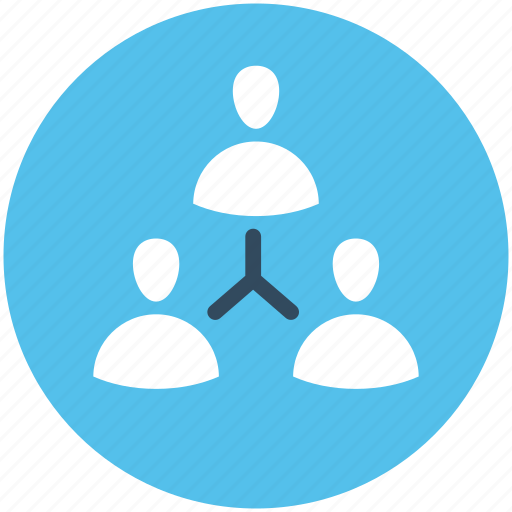 Business people, connected people, online community, organization, people hierarchy icon - Download on Iconfinder