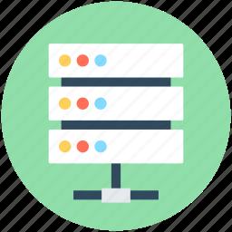 data share, data storage, network share, server, server share icon