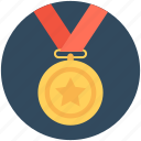 award, medal, winner