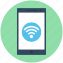 mobile, mobile wifi, wifi connected, wifi connection, wireless internet icon