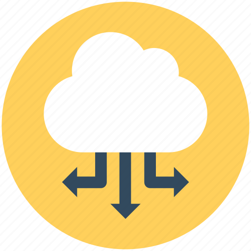 Cloud computing, cloud network, cyberspace, social media icon - Download on Iconfinder