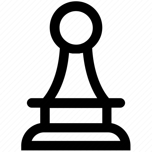 Chess, digital, game, pawn, piece, strategy icon - Download on Iconfinder